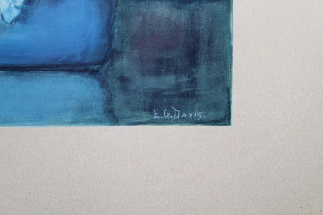 E.G. Davis, Signed Still Life Painting - 3
