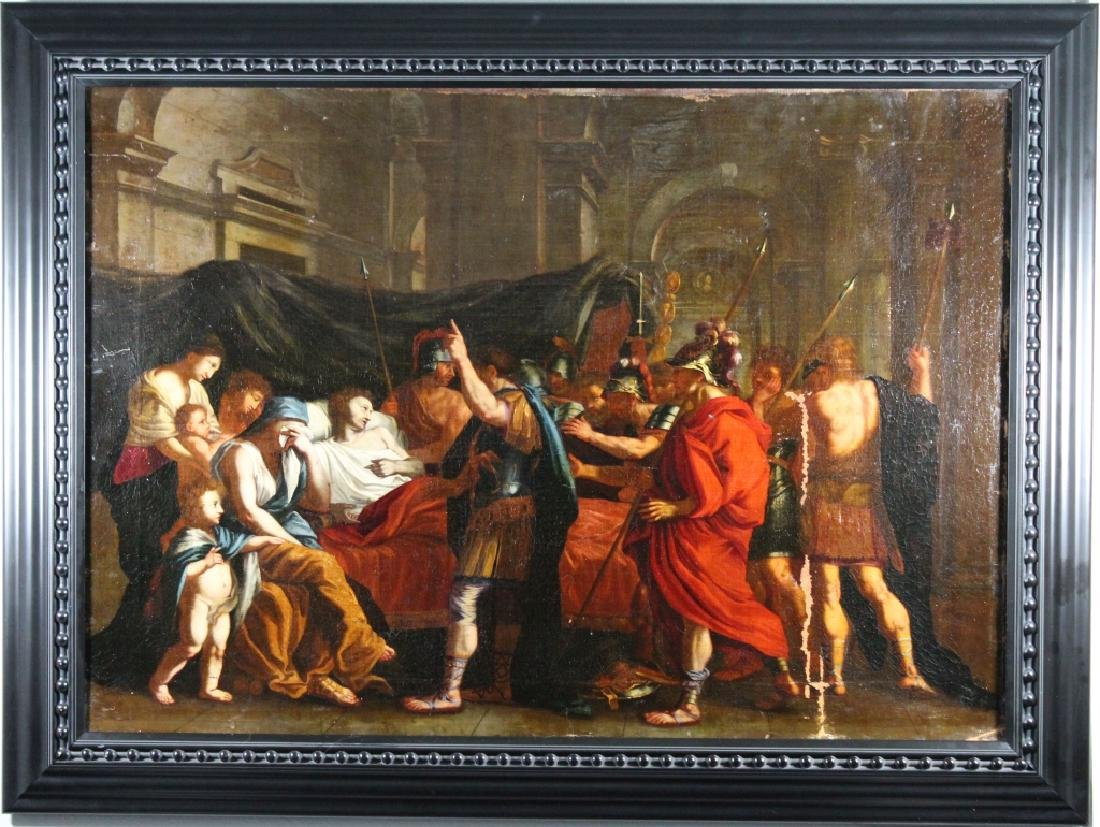18th C European School Old Master Painting (as is)