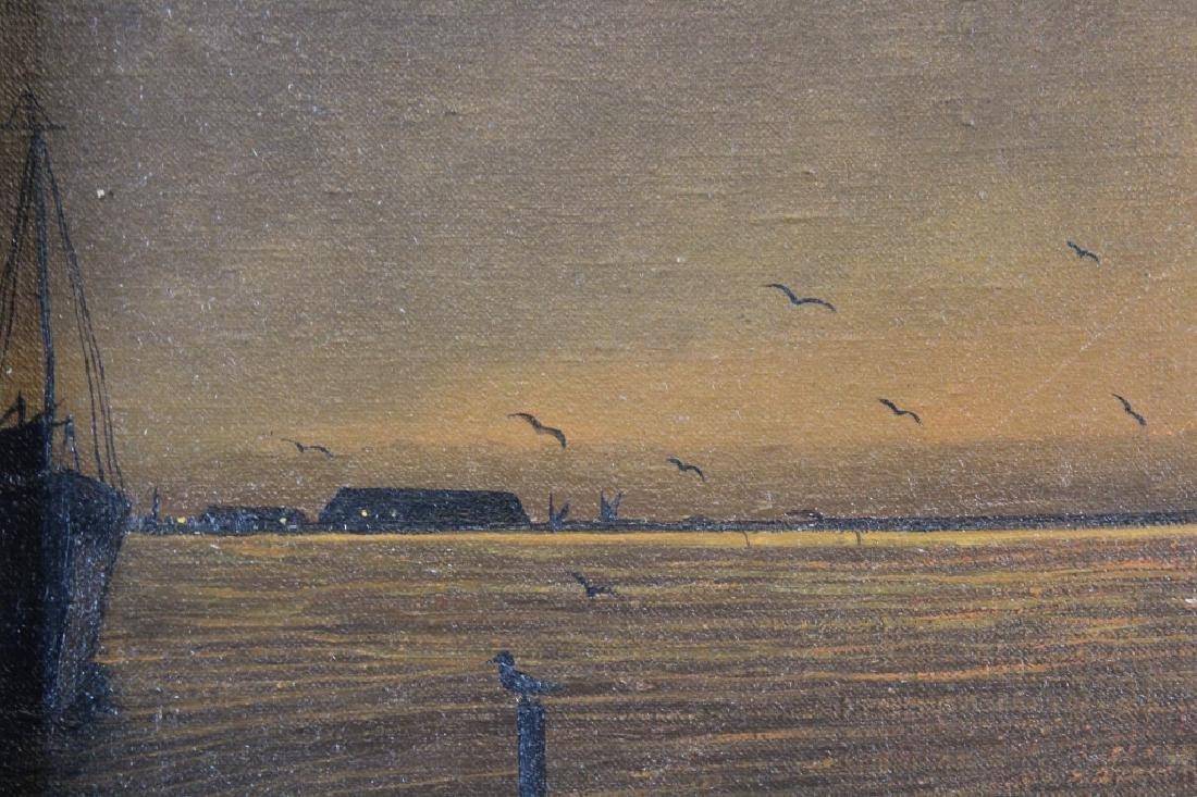 Sourkasian, Signed Coastal Scene at Sunset - 3