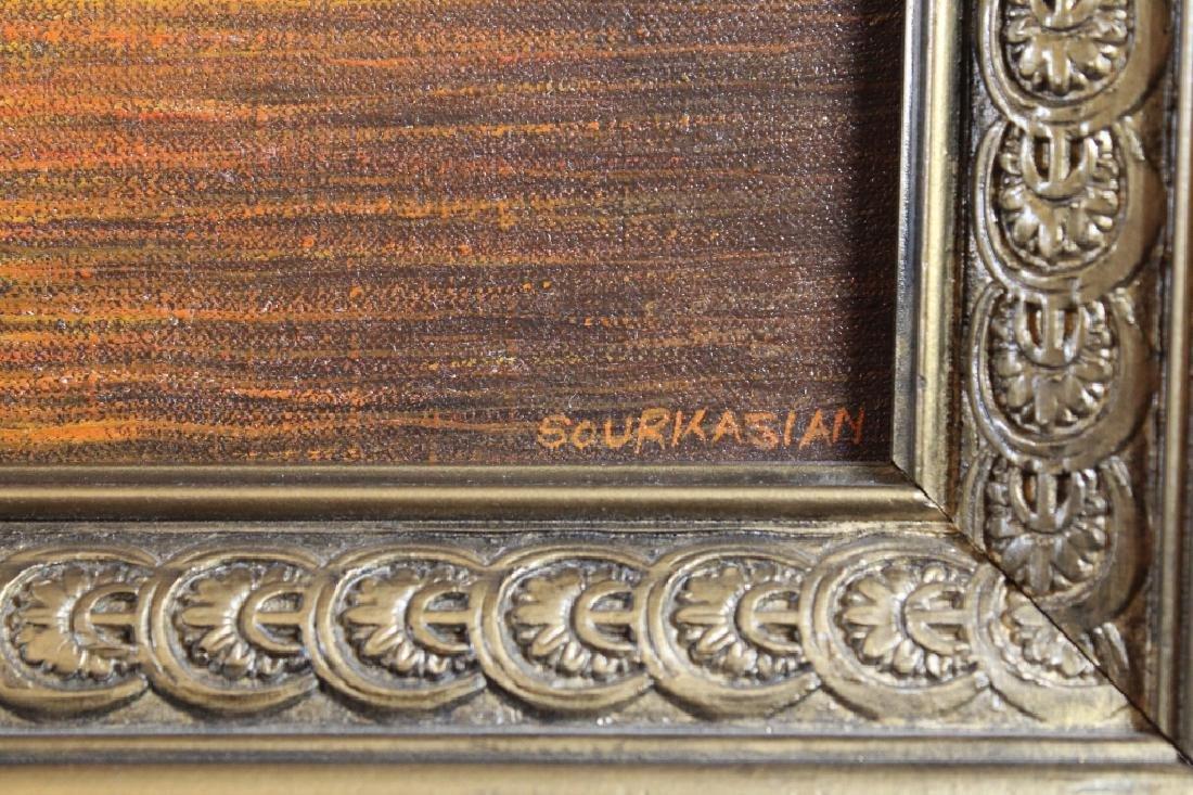Sourkasian, Signed Coastal Scene at Sunset - 4
