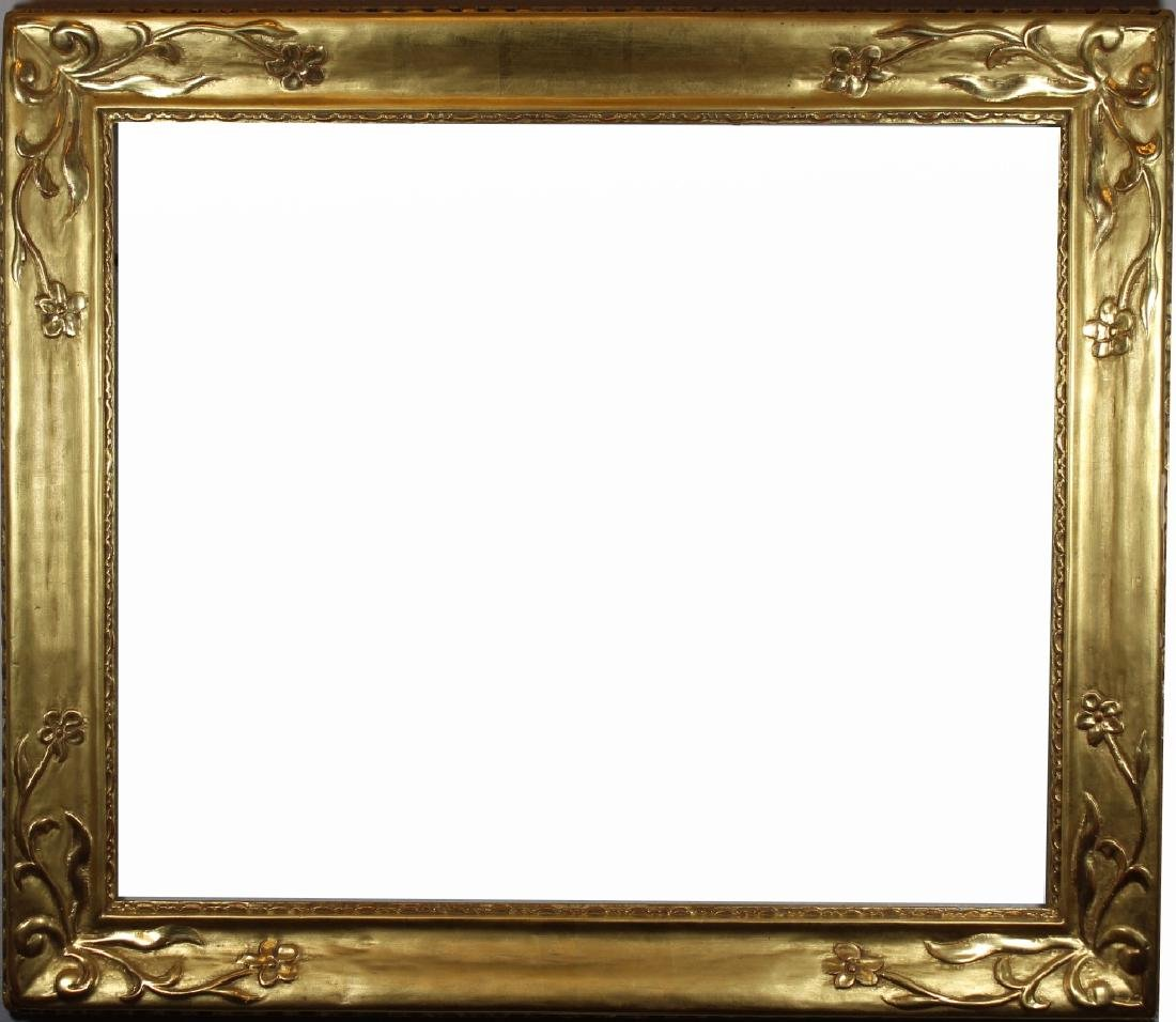 Gilt/Carved Wood Newcomb Macklin Style Frame