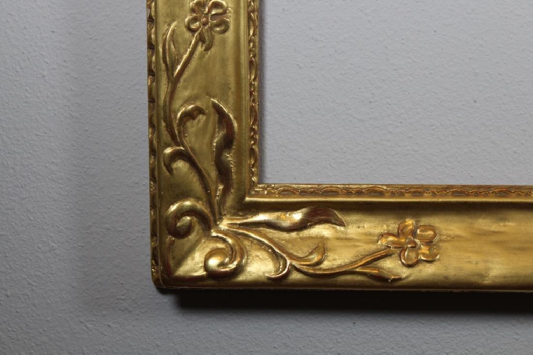 Gilt/Carved Wood Newcomb Macklin Style Frame - 2