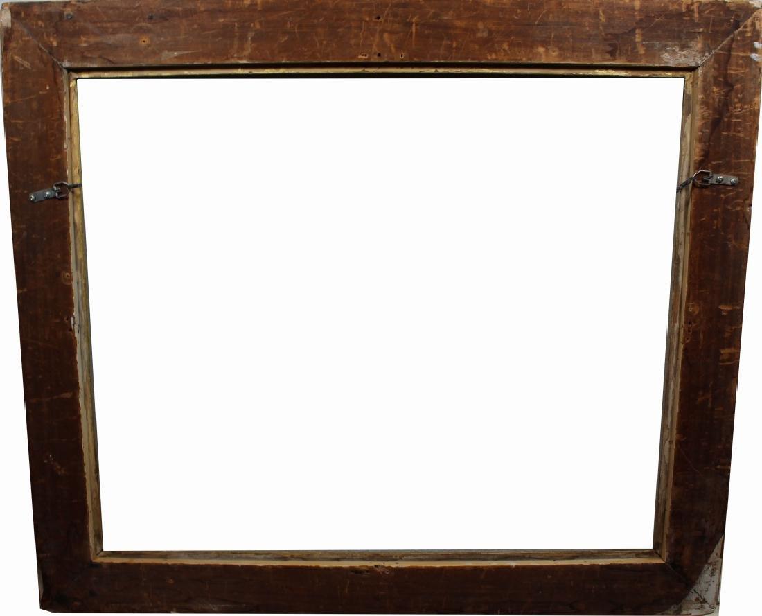 Gilt/Carved Wood Newcomb Macklin Style Frame - 3