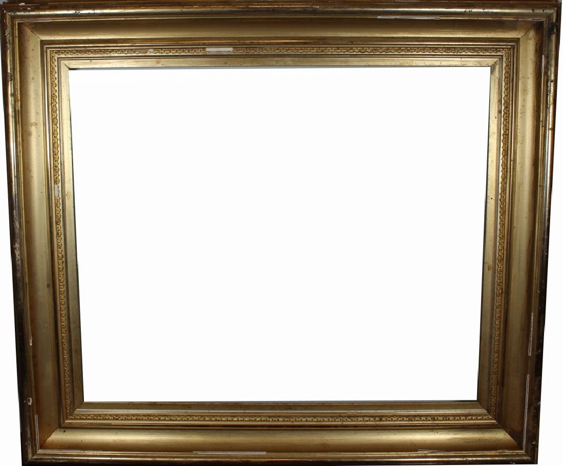 Antique American Gilt/Carved Wood Frame