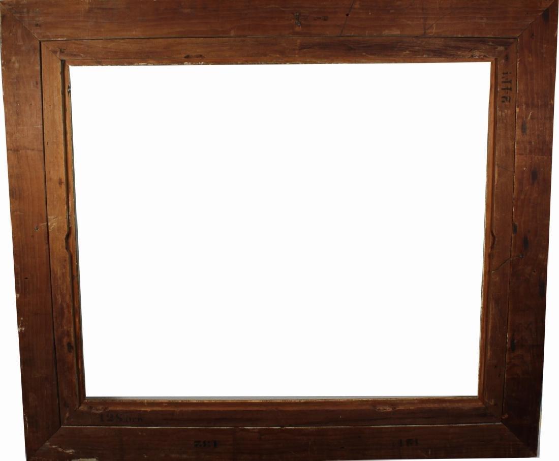 Antique American Gilt/Carved Wood Frame - 3