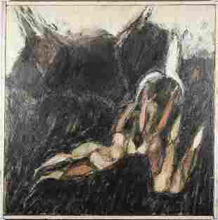 Figural Abstract Painting 20th Century