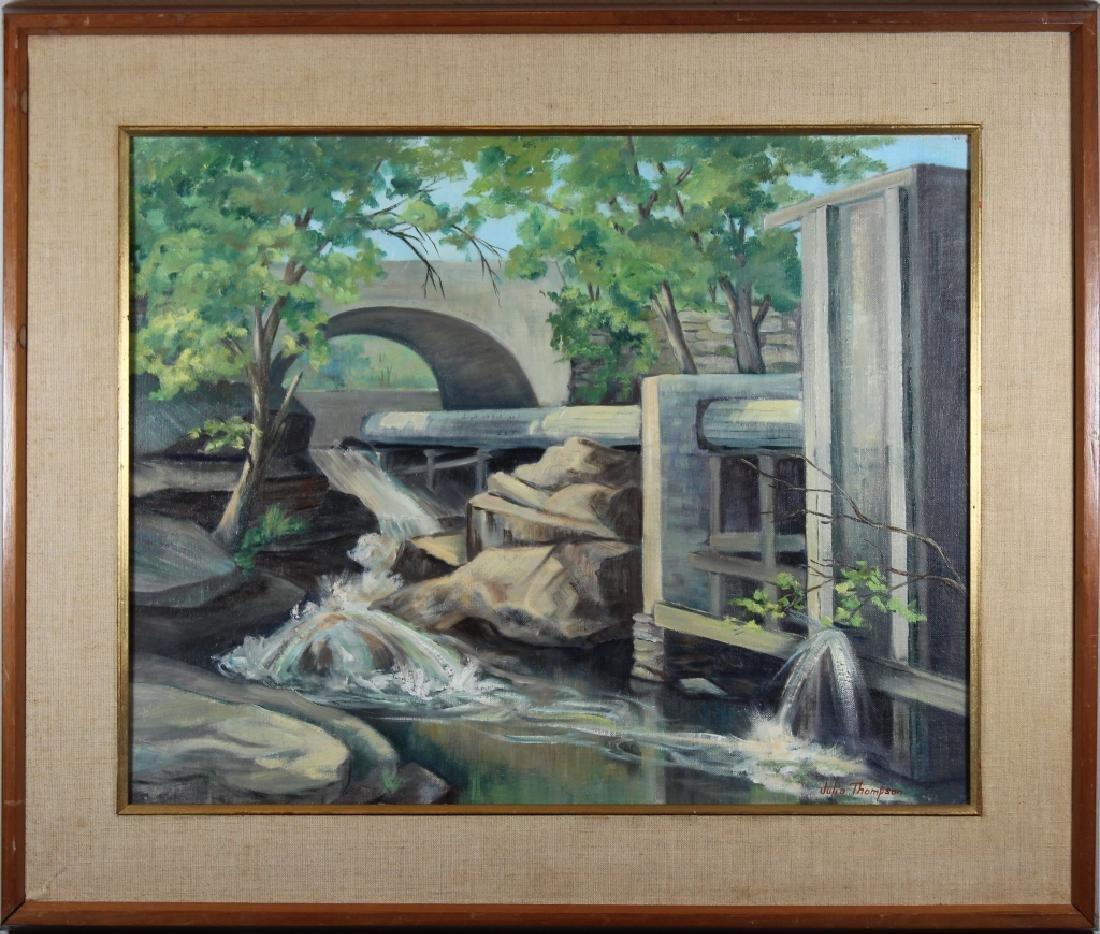 """Below the Dam"" Vermont, Julia Thompson"