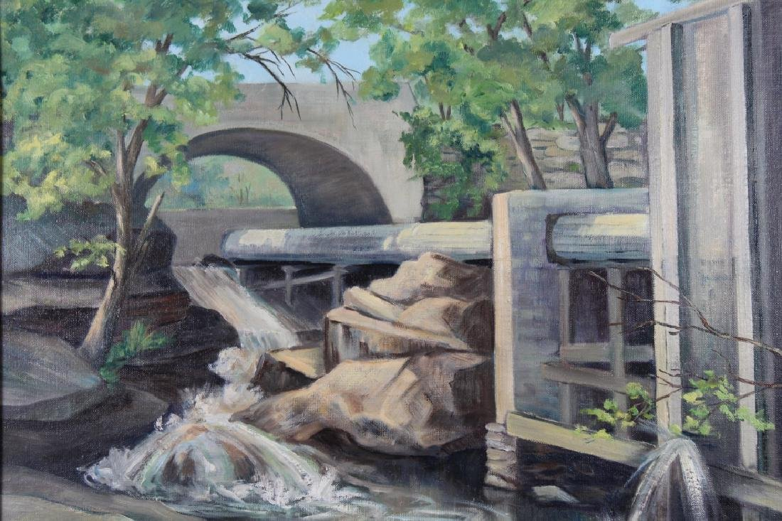 """Below the Dam"" Vermont, Julia Thompson - 2"