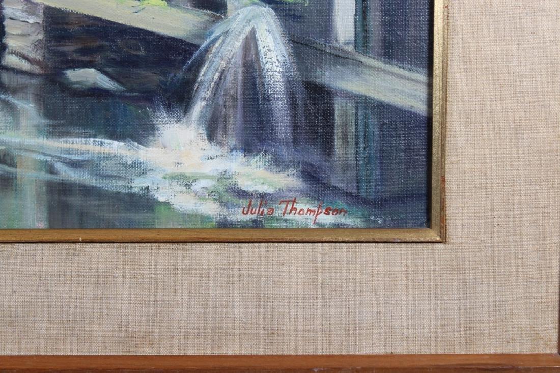 """Below the Dam"" Vermont, Julia Thompson - 3"
