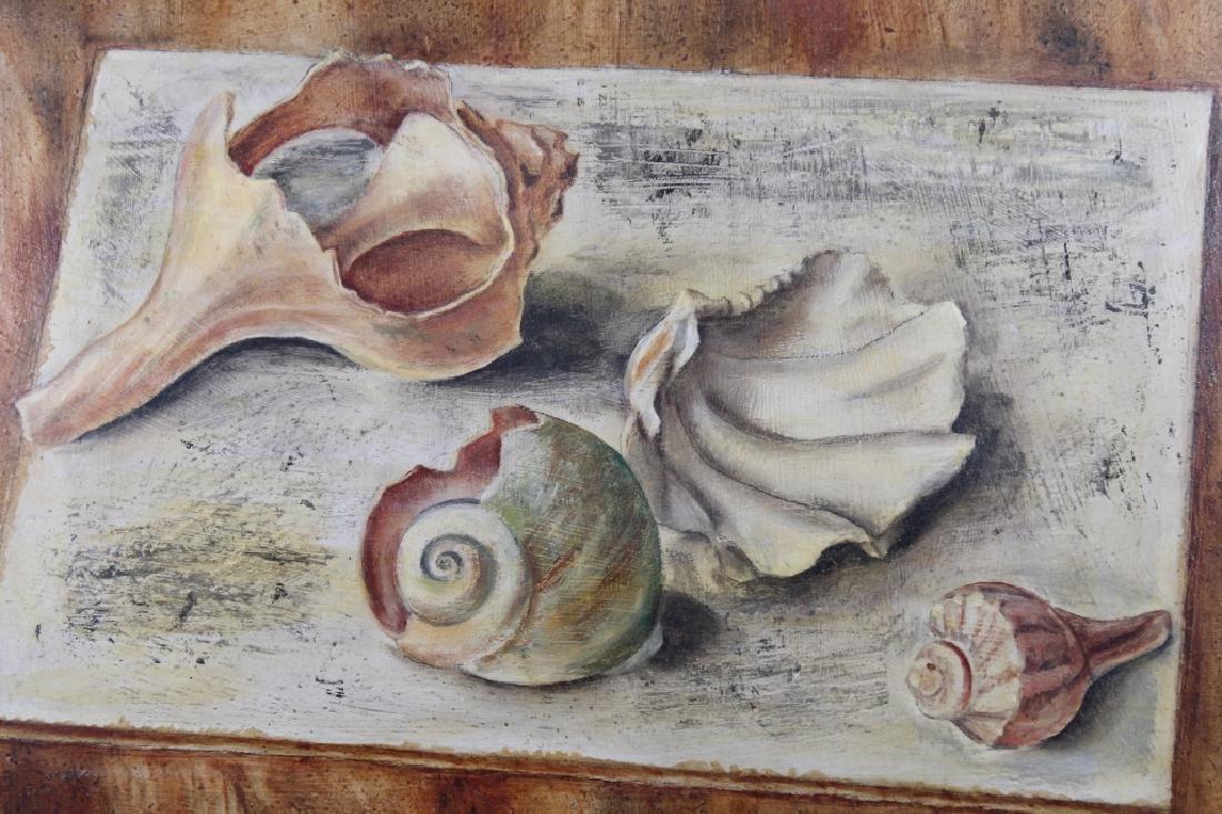 "Karen Walter, ""Shell Study"" Painting - 2"