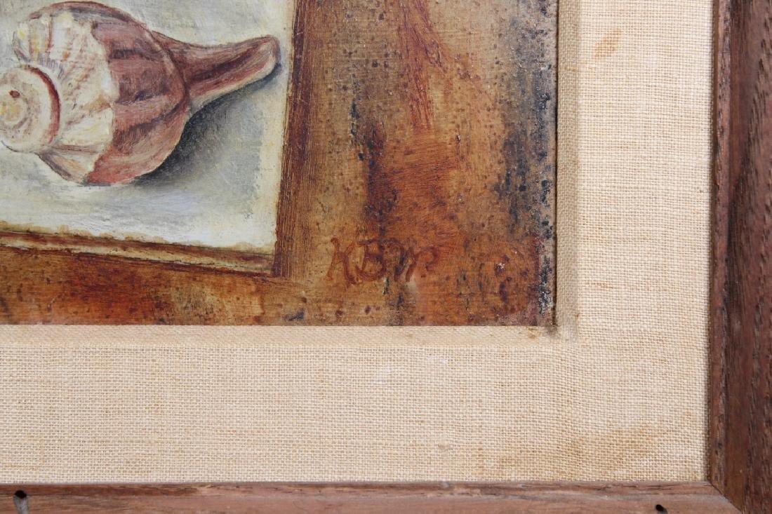 "Karen Walter, ""Shell Study"" Painting - 3"