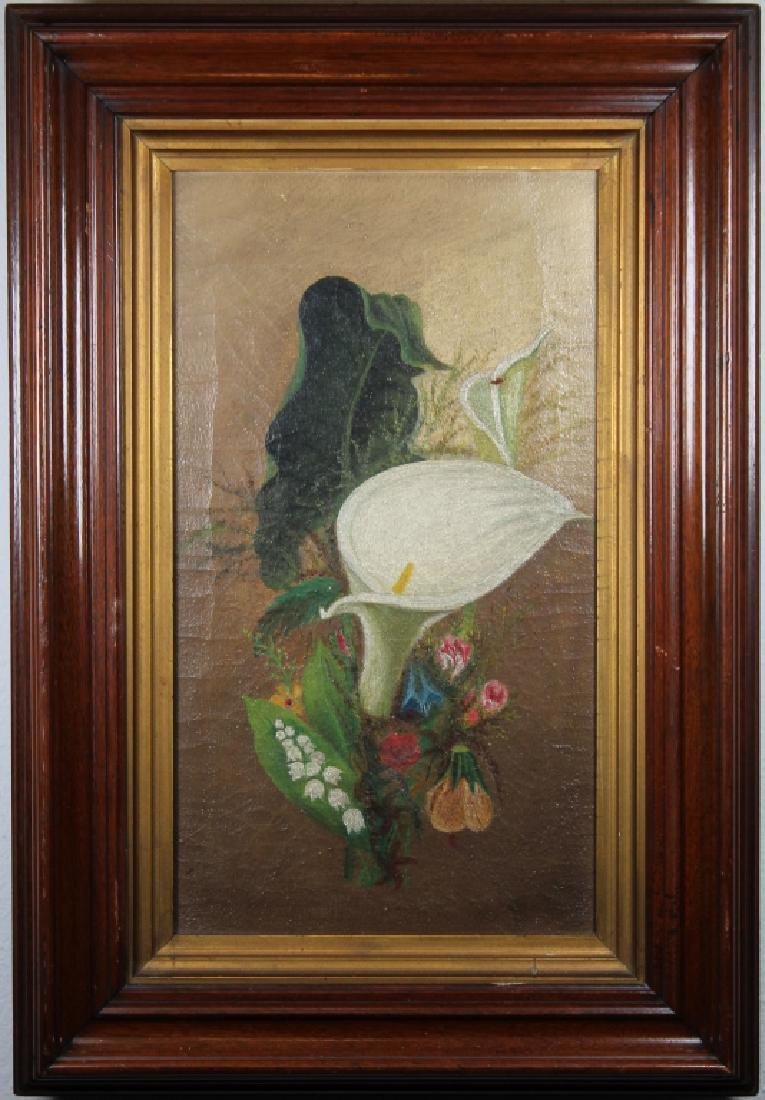 19th C. American School Still Life Painting