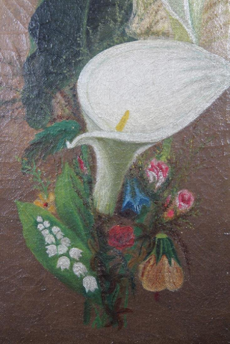 19th C. American School Still Life Painting - 2