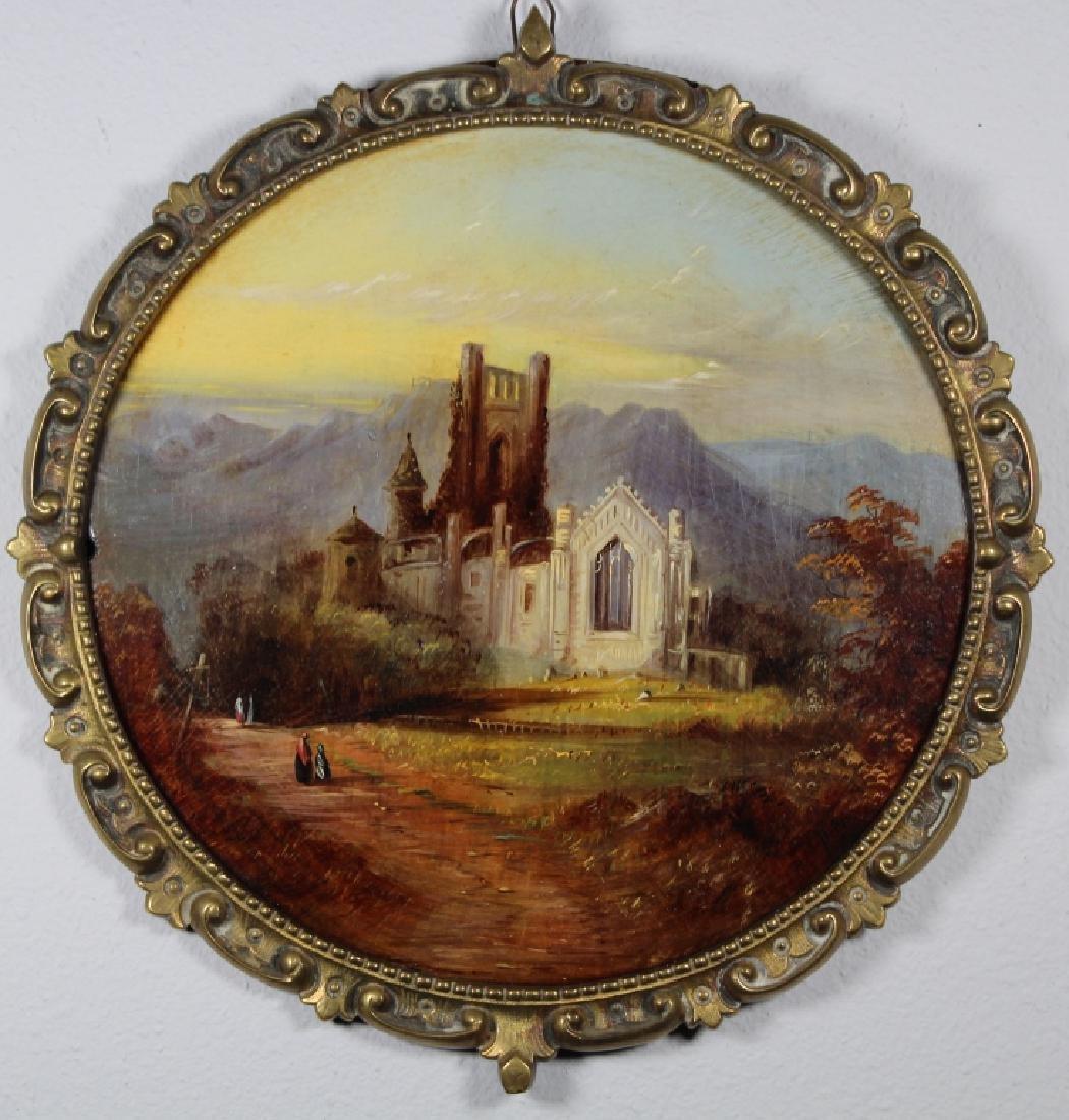 19th C. European School Landscape w/ Figures