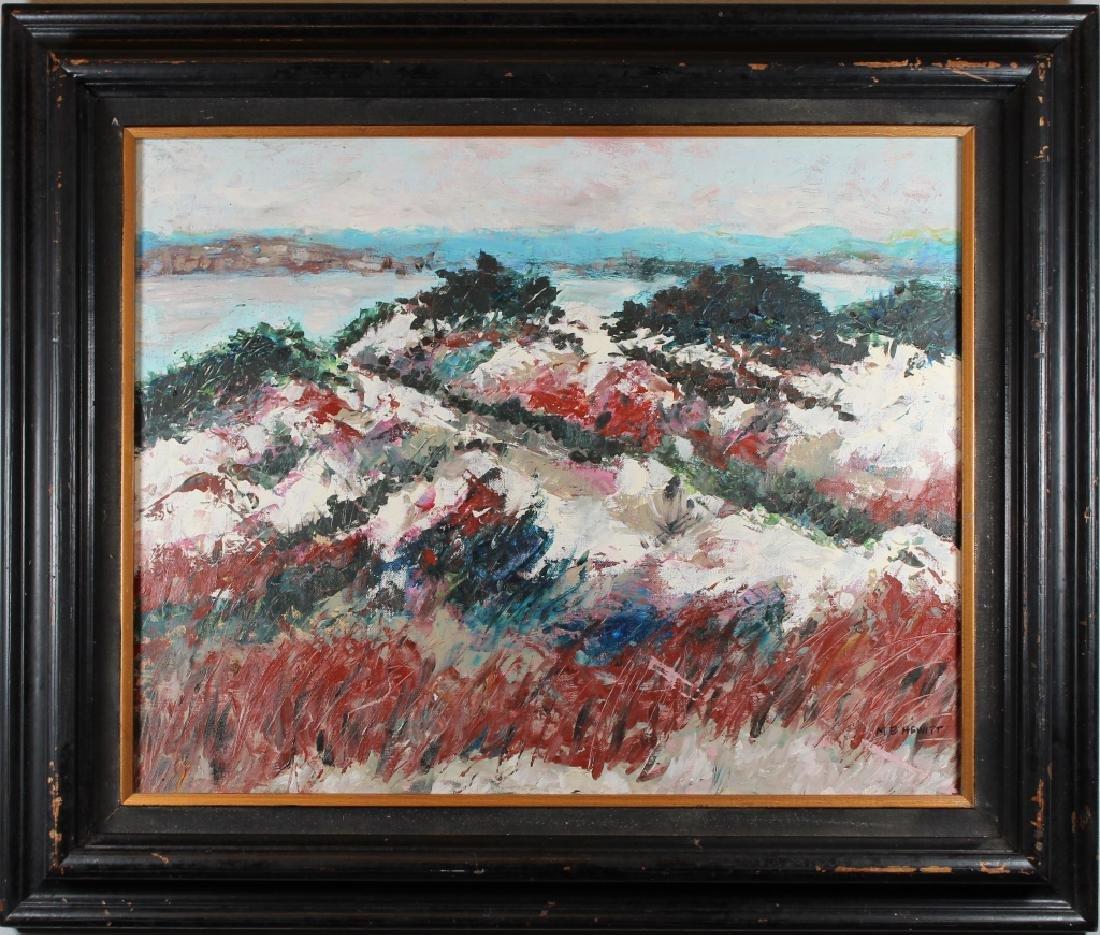 MB Hewitt, Vintage Landscape Painting