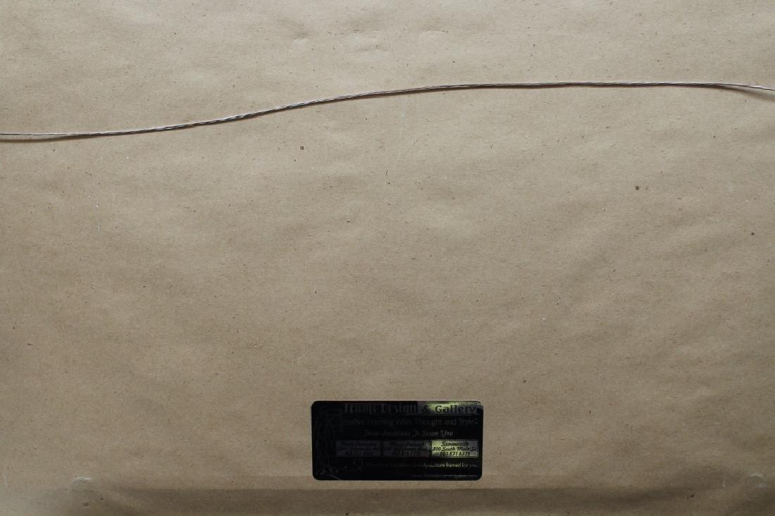 Depner, Signed Western Landscape with Hound - 4