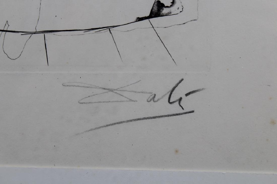 Salvador Dali Framed Etching - 3