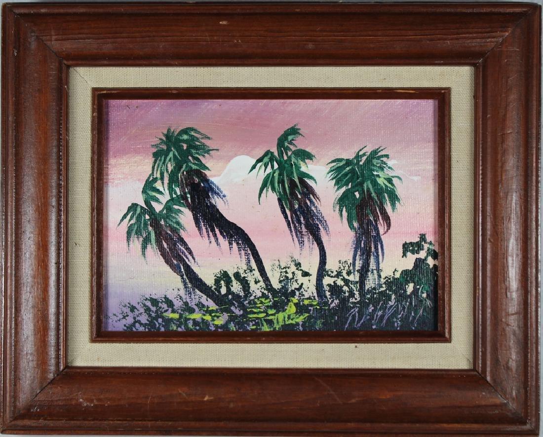 Robert Lewis (Born 1941) Highwaymen Painting