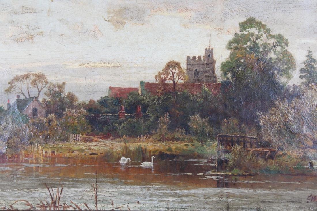 English School, 19th C. Coastal Landscape. Signed - 3