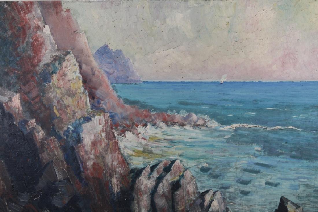 European School Impressionist Coastal Seascape - 2
