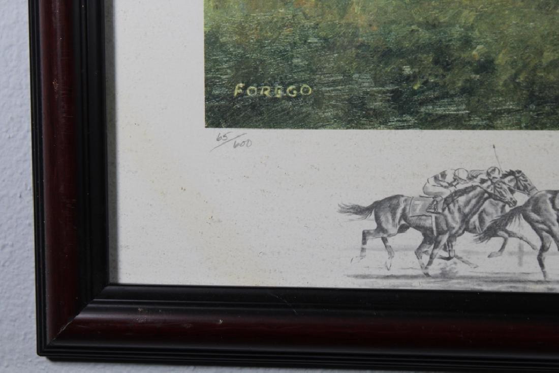Richard Stone Reeves Framed Equestrian Print - 3