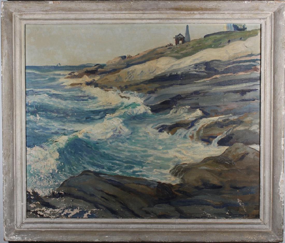 Victor White, New England Coastal Painting