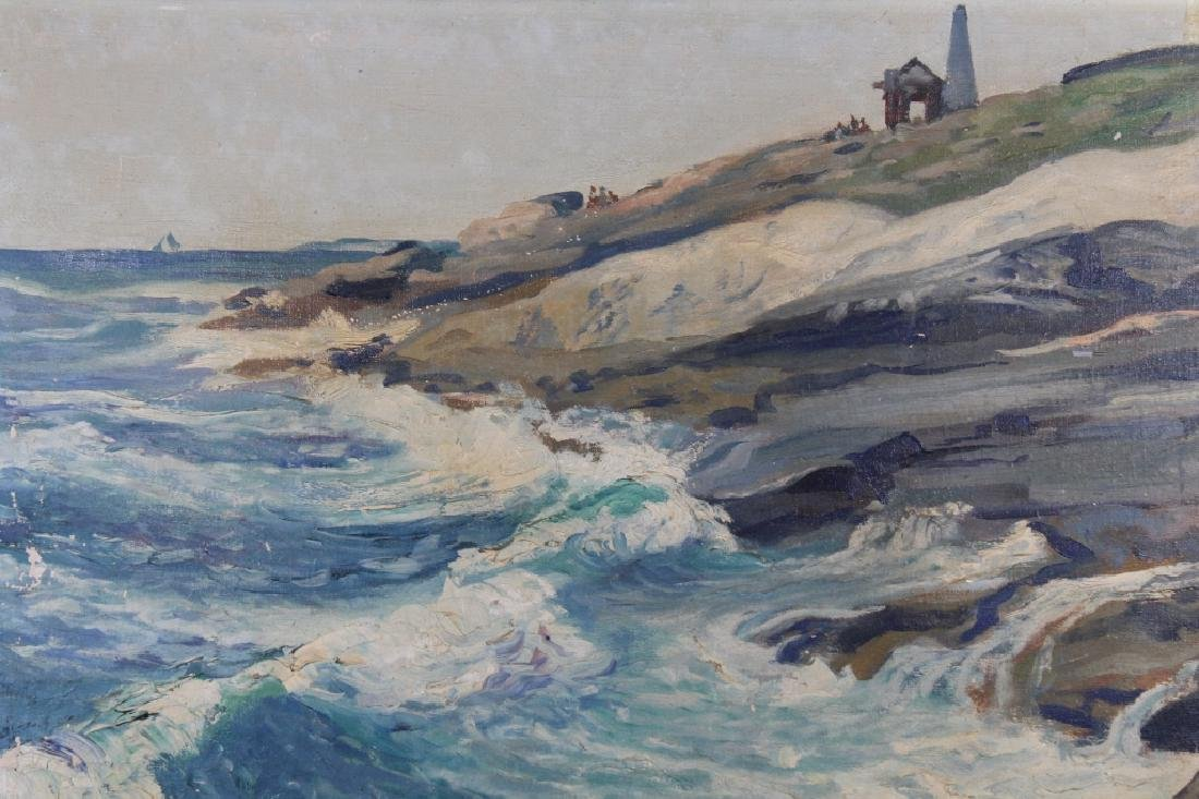 Victor White, New England Coastal Painting - 2