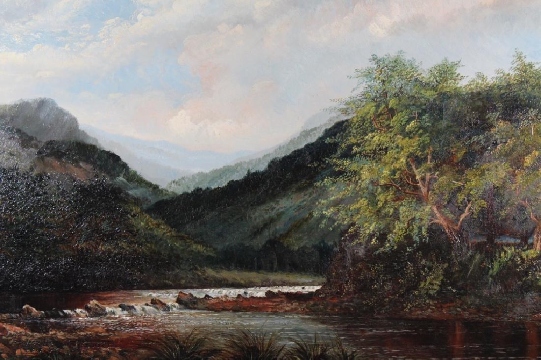 19th C. English School River Landscape - 2