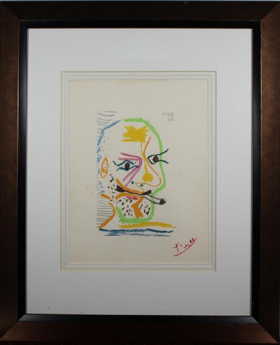 Pablo Picasso (1881 - 1973) 20.5.64 VII Lithograph