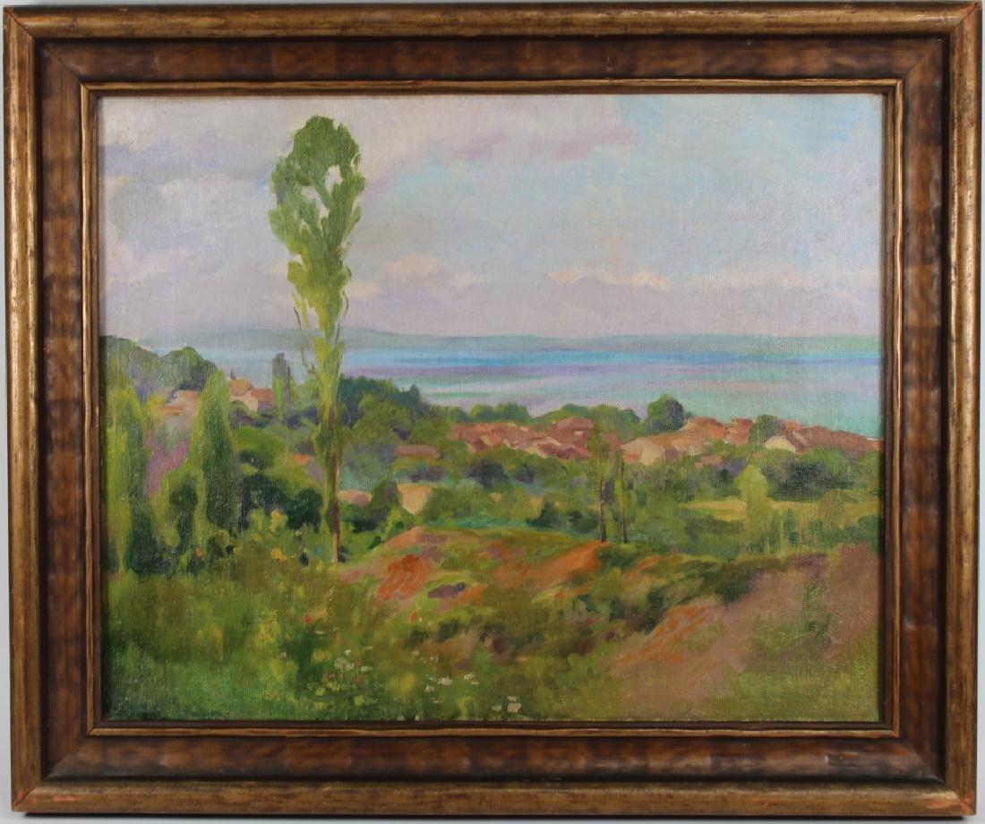 American School, Impressionist Coastal Landscape