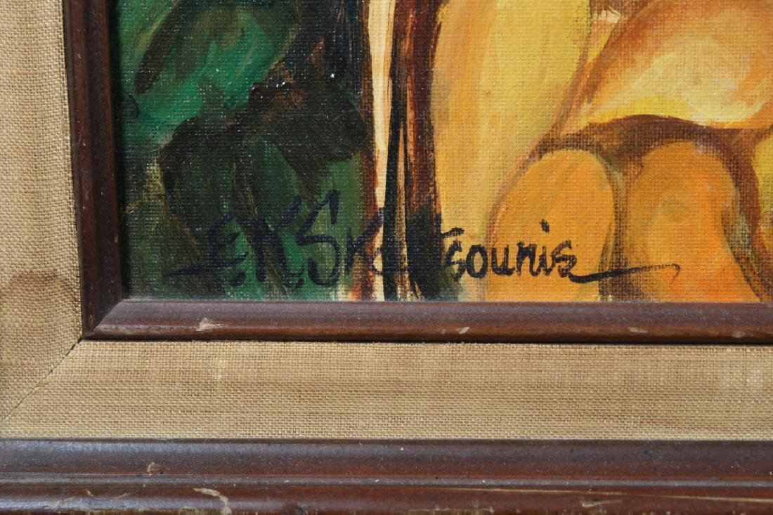 Signed Early 20th C. Painting of a General Store - 3