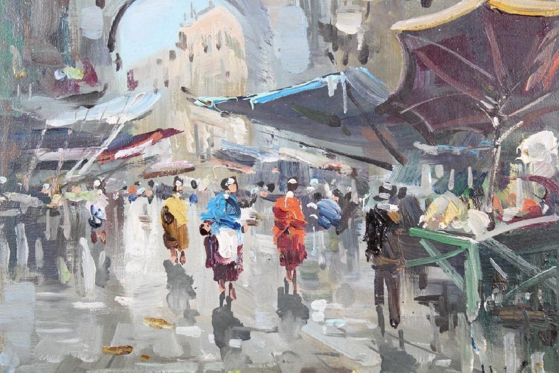 Antonio DeVity (1901 - 1993) Paris Street Scene - 2