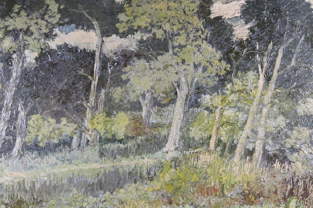 European School, Impressionist Wooded Landscape - 2