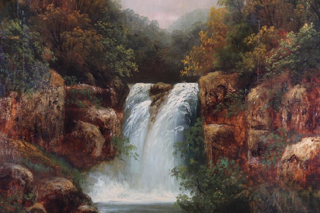 B. Muschamp Antique River Landscape - 2