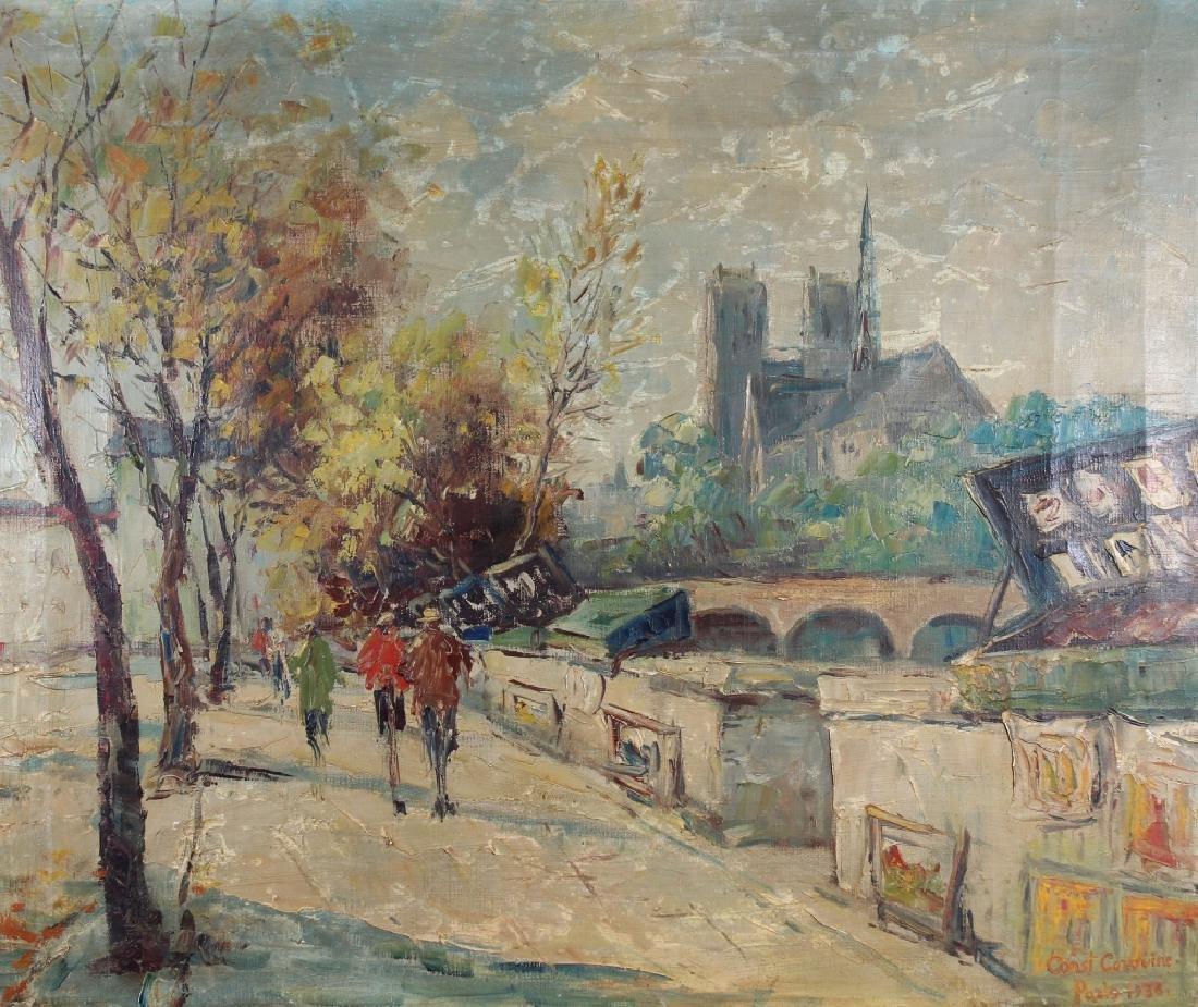 """Constant Corovine (20th Century) """"Paris 1936"""""""