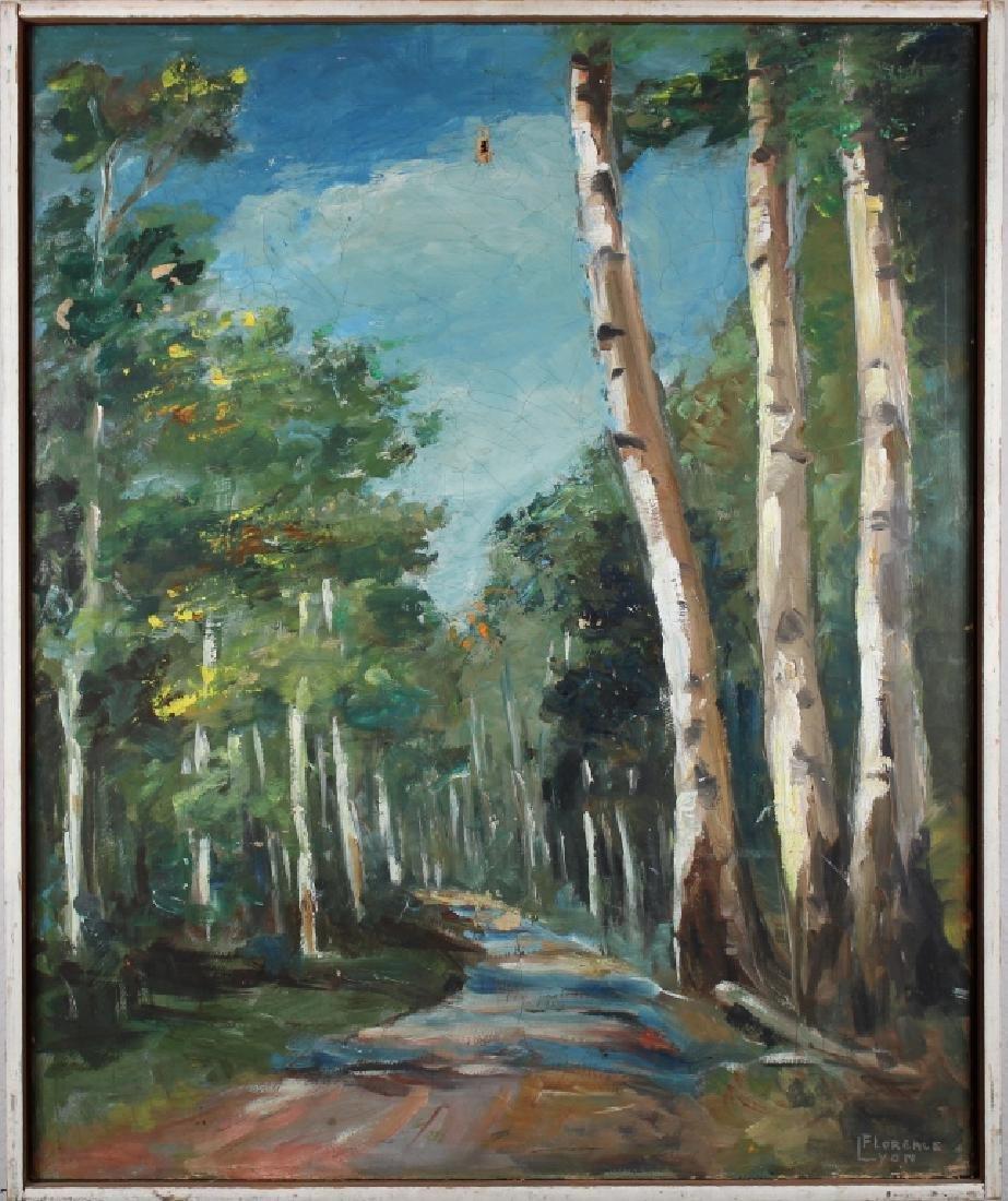 Signed, Missouri Wooded Landscape Painting