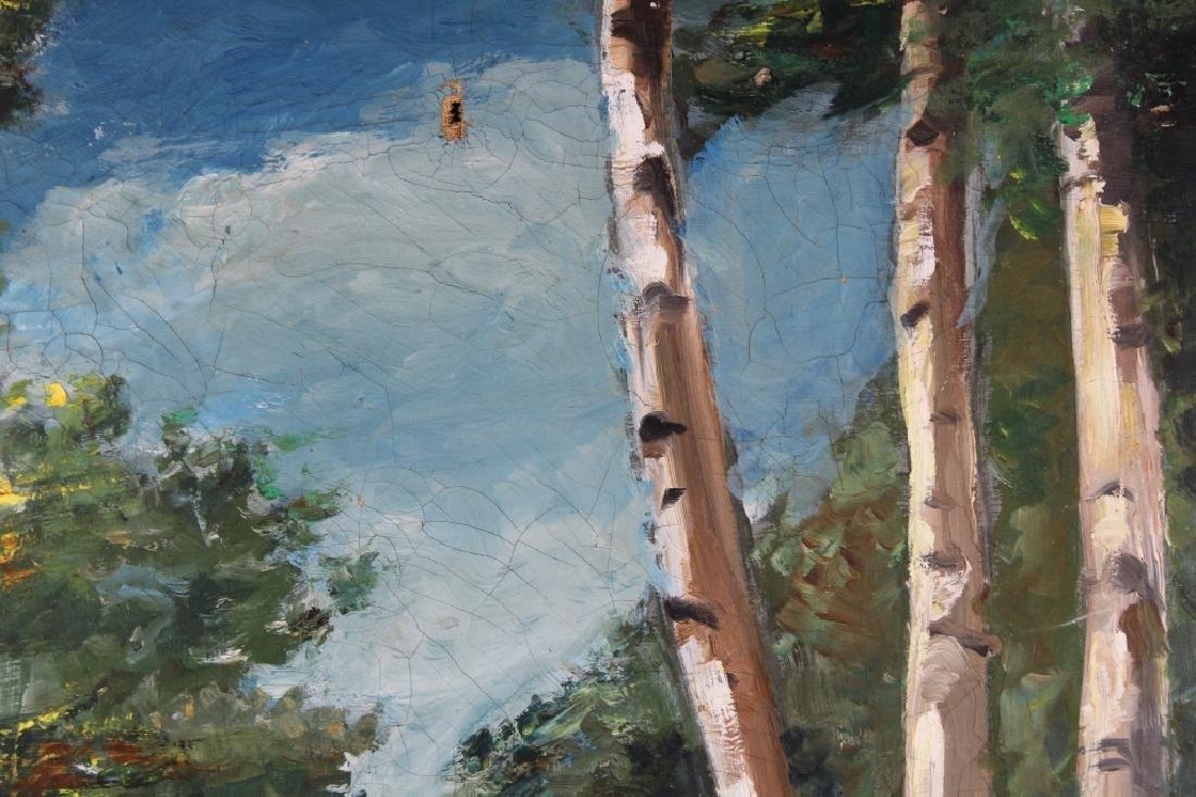Signed, Missouri Wooded Landscape Painting - 2