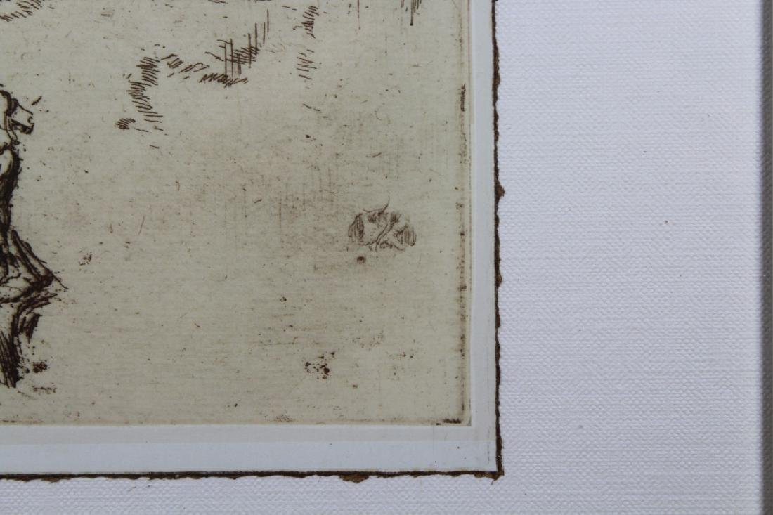 Photogravure of Whistler Etching - 5