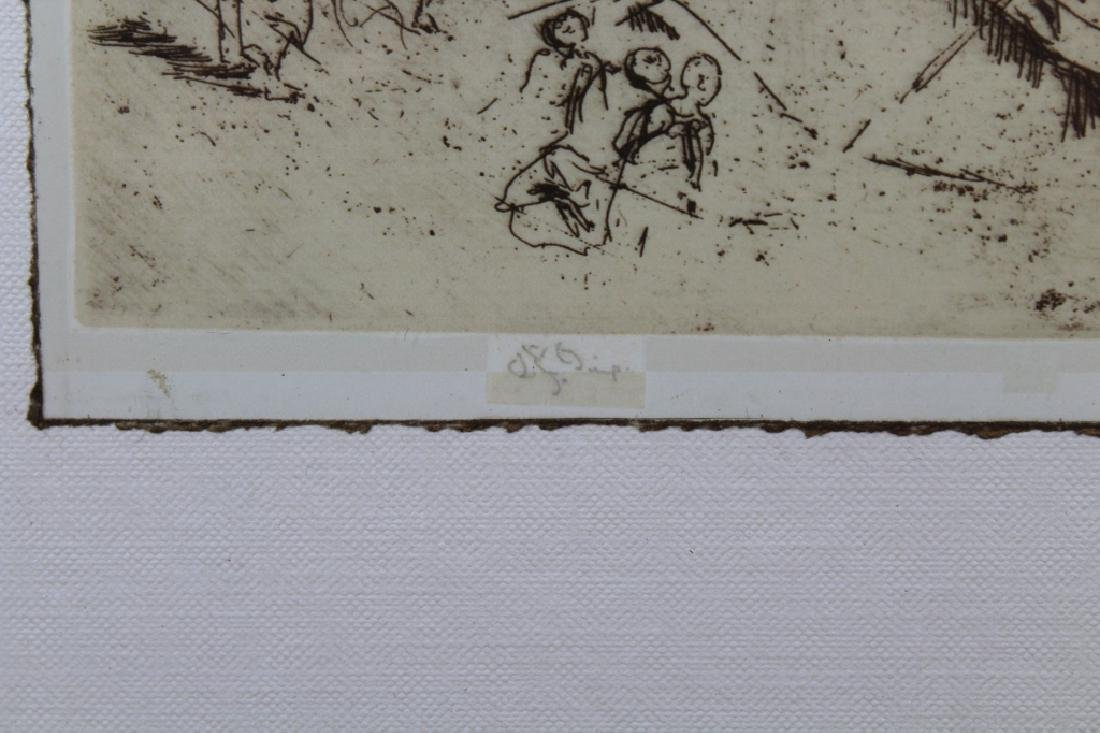 Photogravure of Whistler Etching - 6