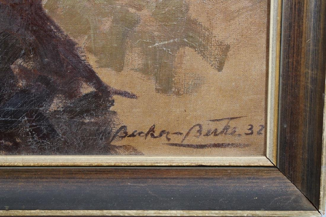 Signed, '32 Painting of a Bald Eagle - 2