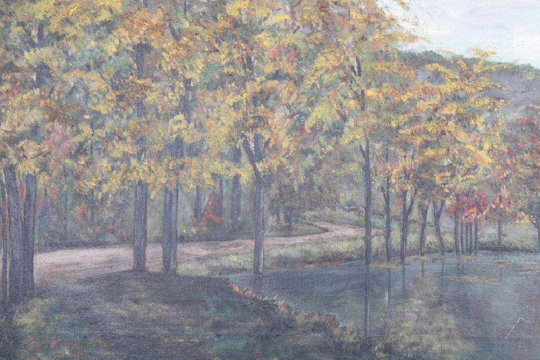 """Hightower, Signed Painting of """"Cathole Road"""" - 2"""