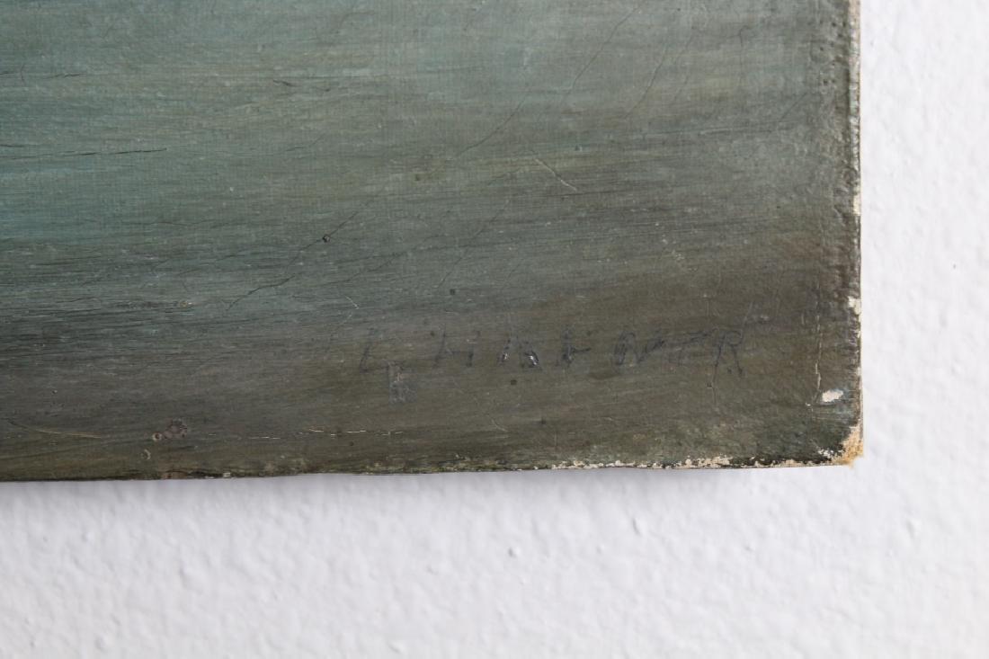 """Hightower, Signed Painting of """"Cathole Road"""" - 3"""