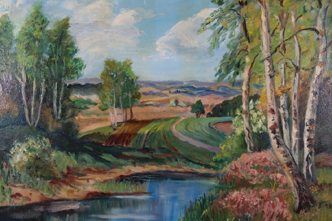 American School, Signed Landscape Painting - 2