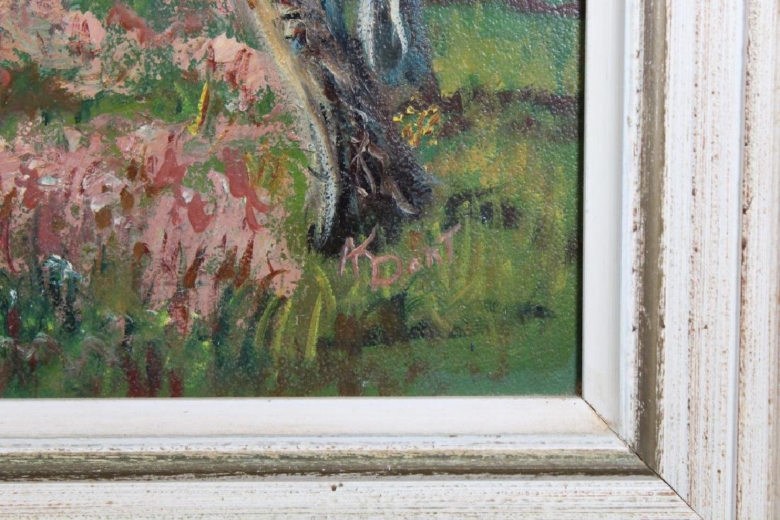 American School, Signed Landscape Painting - 3