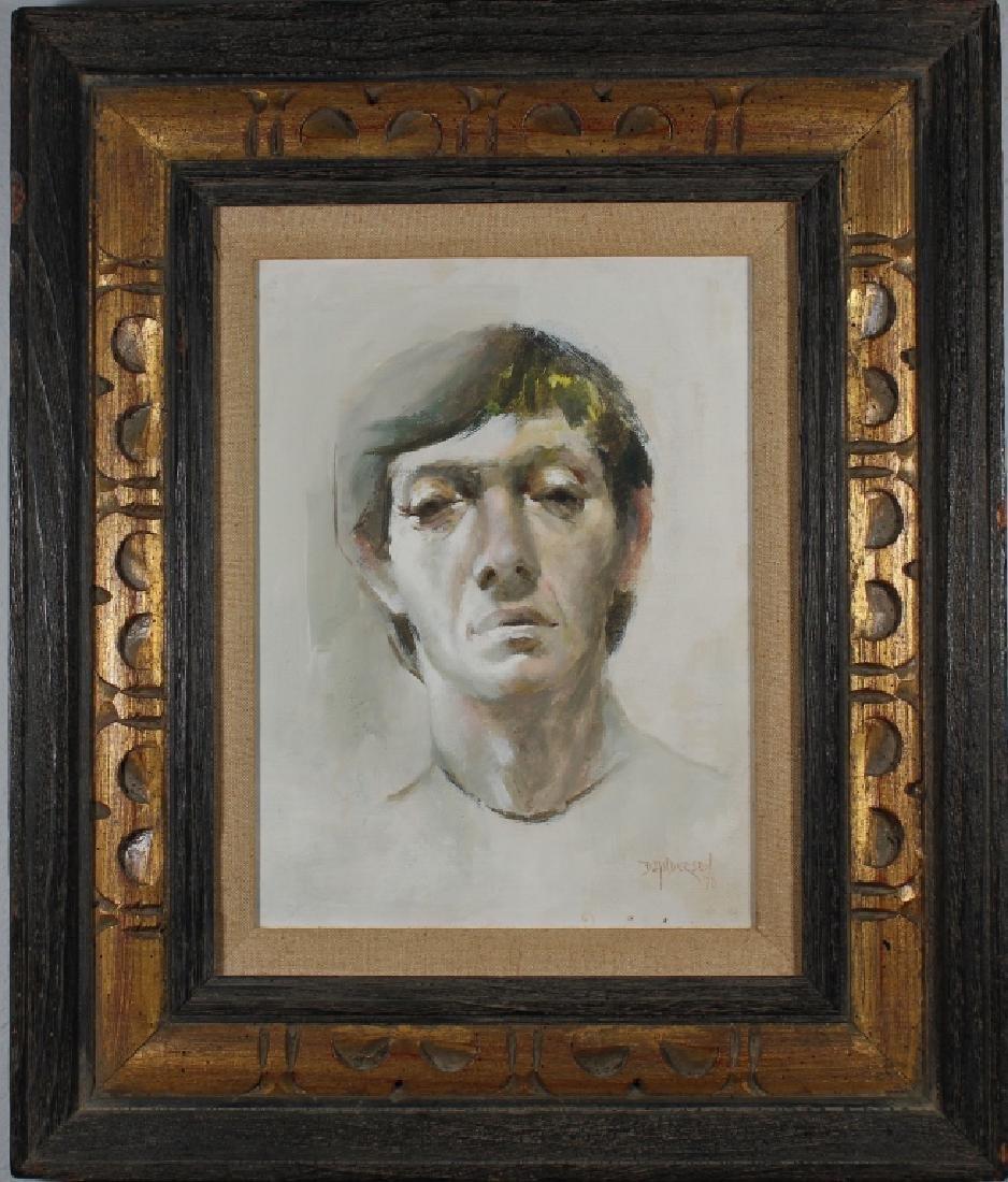 D. Anderson 1970 Portrait of a Man
