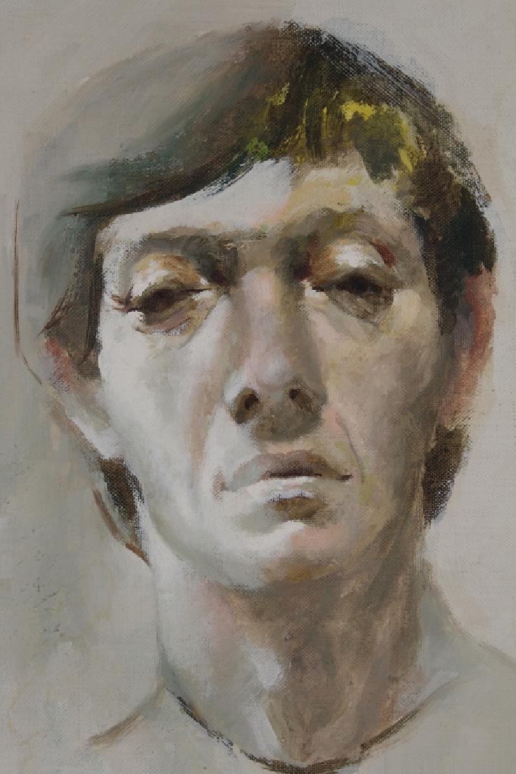 D. Anderson 1970 Portrait of a Man - 2