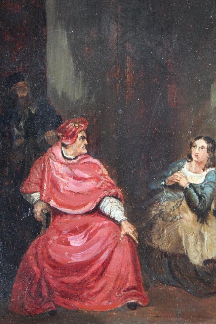 F.R. Say, 19th C. Interior Scene w/ Figures - 2
