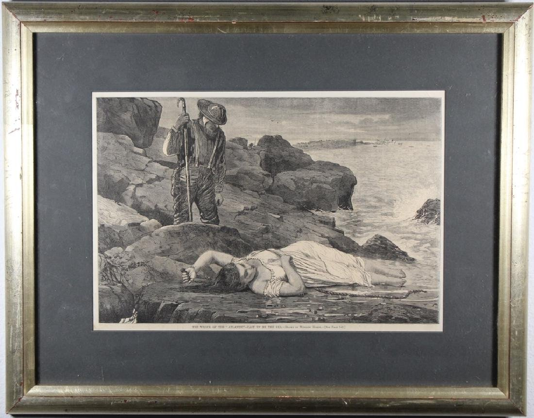 Framed Print, After Winslow Homer