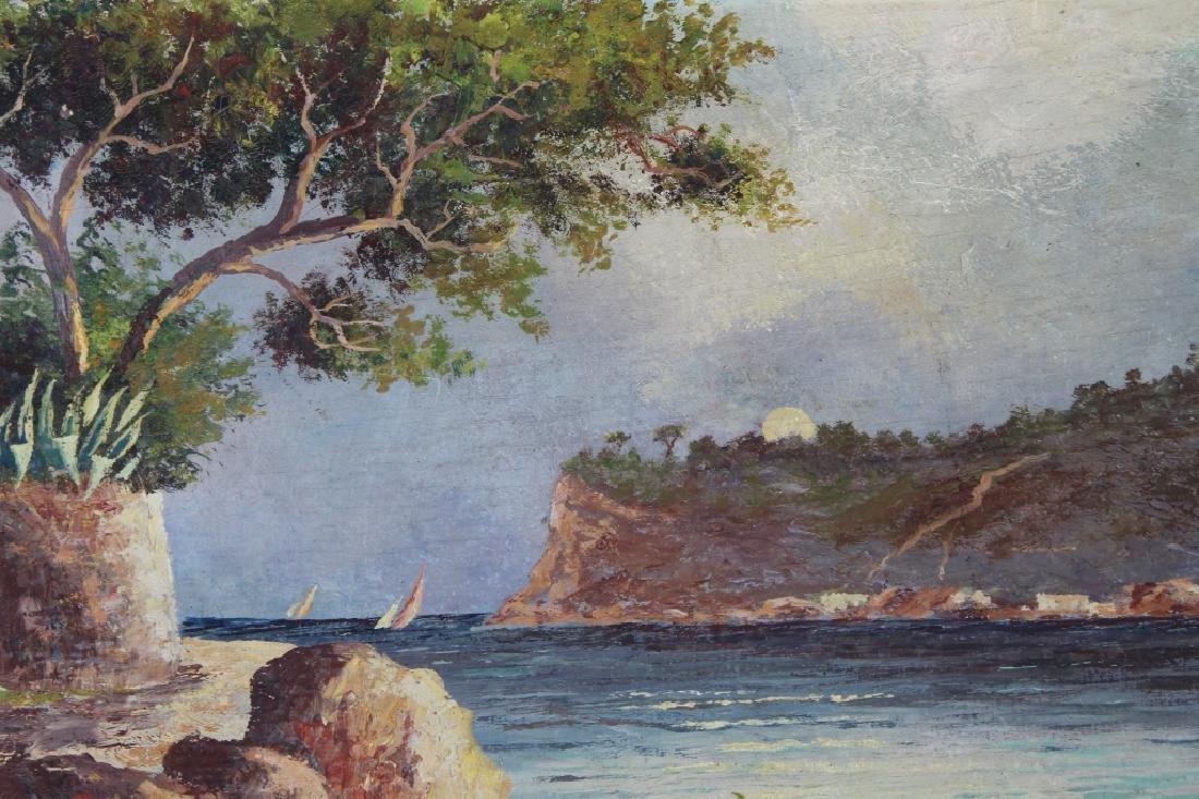 Avril, Signed New England Coastal Landscape - 2