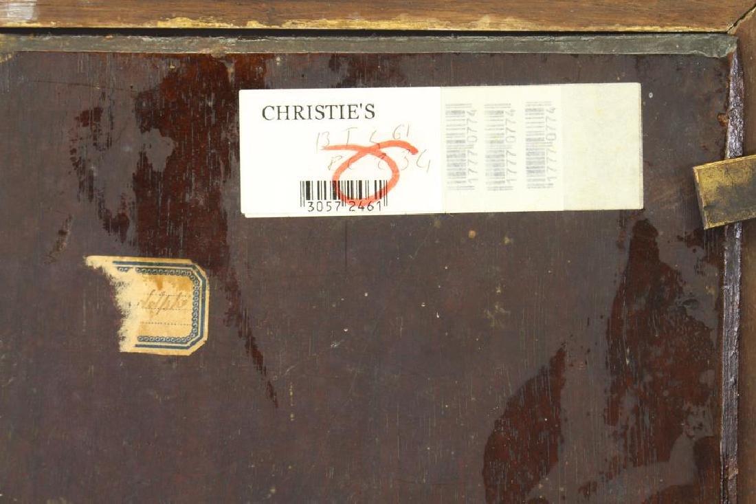 19th C. European Interior Scene, Ex Christie's - 5
